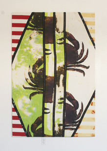 Vertically constrained crab 72x48 2014